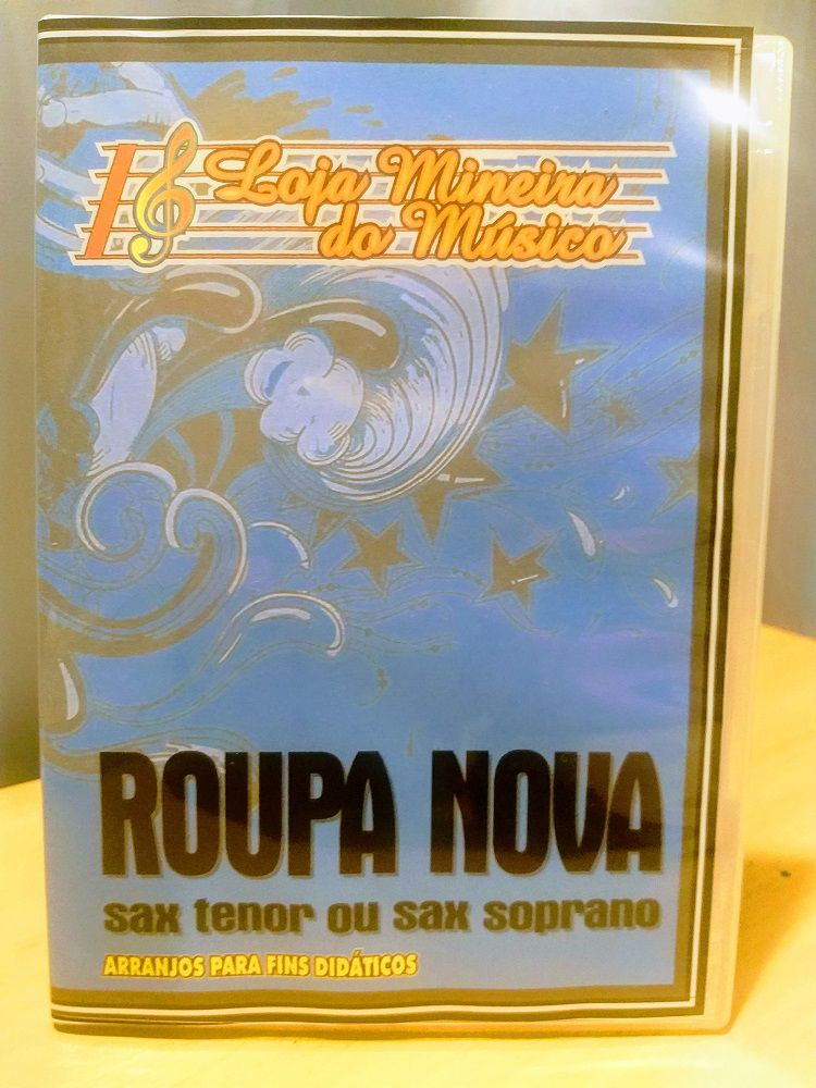 SAXOFONE SI BEMOL ROUPA NOVA Partituras com Playbacks de Roupa Nova Mp3, Midis e PDFs | SAX TENOR ou SAX SOPRANO | Compatibilidade Sax Tenor e Soprano,