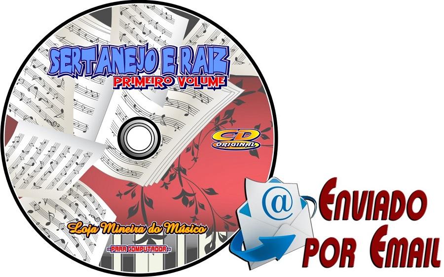 Sertanejo Raiz Partituras com Playbacks (por e-mail) (Lançamento)