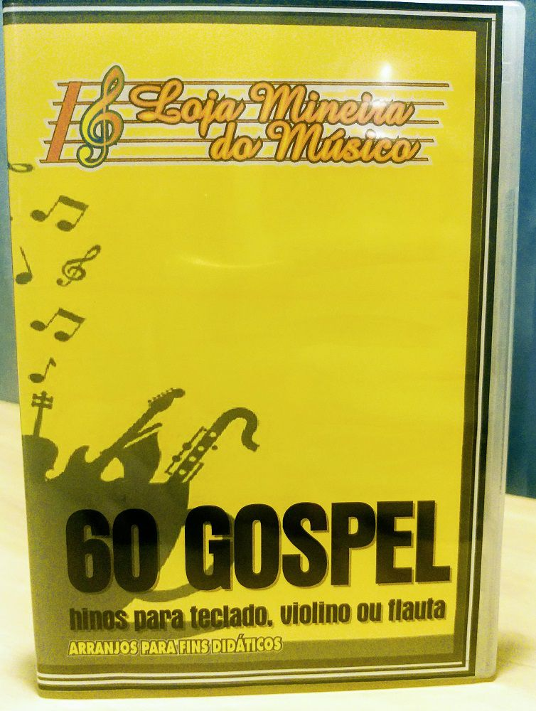 TECLADO Partituras Gospel com 60 Playbacks Gospel | Hinos Evangélicos para Teclado | Sessenta Partituras para Teclado Gospel Prontas para Usar e com Áudios Playback MP3 | Teclado Iniciante Tons Fáceis