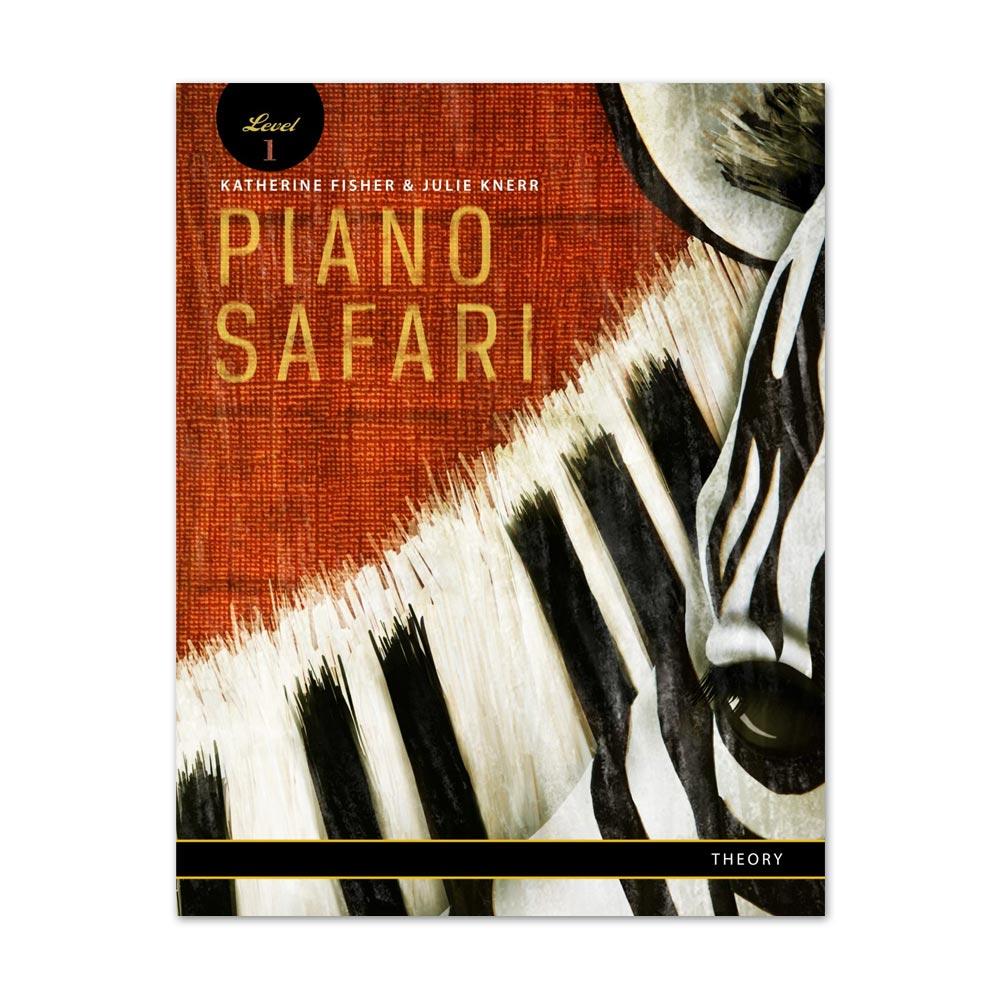 THEORY BOOK LEVEL 1 PIANO SAFARI NIVEL 1 LIVRO DE TEORIA MUSICAL NA LOJA MINEIRA DO MÚSICO