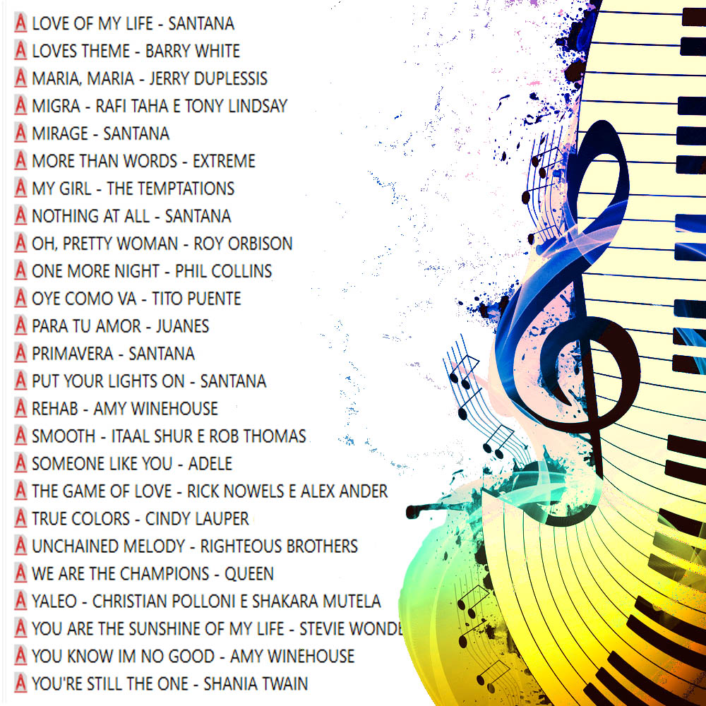 Top Hits Internacionais Sucessos 50 Partituras 50 Playbacks