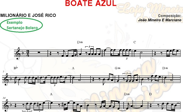 TROMPETE Boleros Sertanejos Partituras e seus 40 Playbacks Sertanejos (também atende a Clarinete) | Partituras Sertanejas para Instrumento Si Bemol Bb