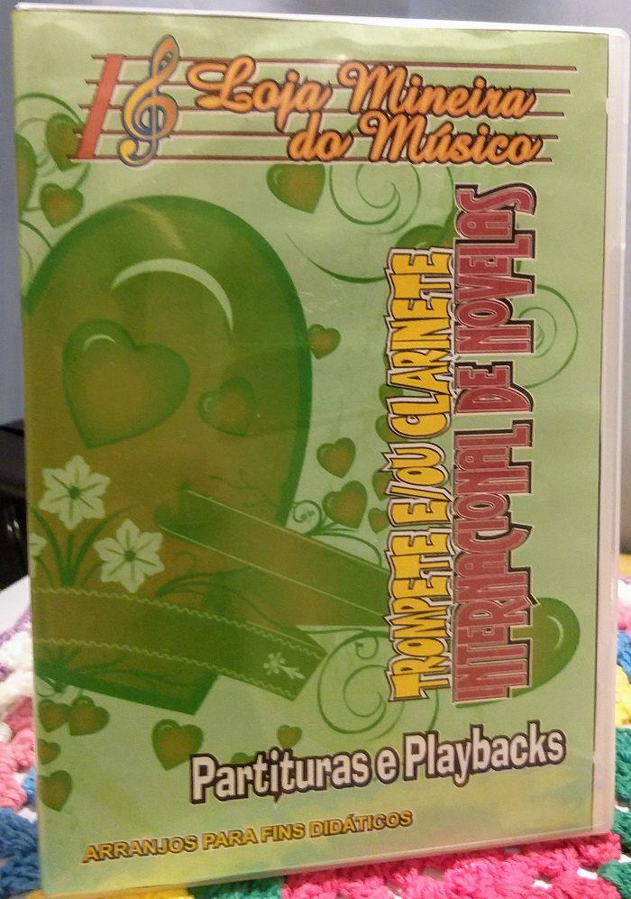 TROMPETE ou CLARINETE Partituras Românticas Internacionais de Novela e Playbacks Internacionais MP3