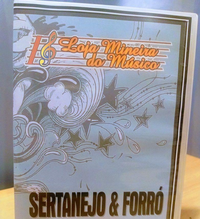 VIOLINO Sertanejo e Forró Partituras com Playbacks | Partituras Sertanejo e Forró com 50 Playbacks em MP3 | Acervo para tocar no Violino Sertanejo e Forró |