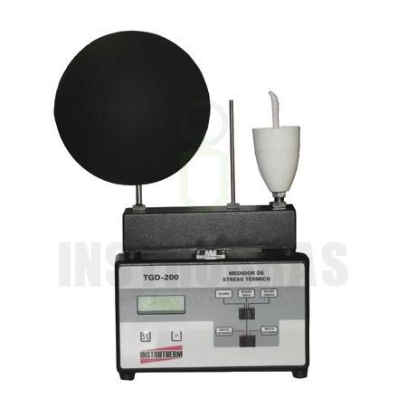 TGD-200 Termômetro de Globo digital - IBUTG com certificado de calibração