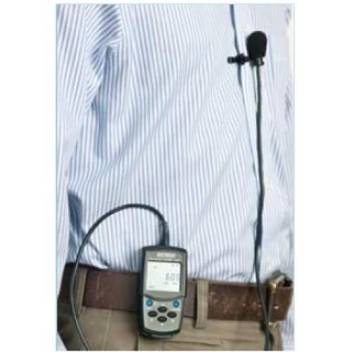 SL-355 Dosímetro de Ruído Digital Portátil com Interface USB e certificado de calibração   - Instrubras Instrumentos de Medição