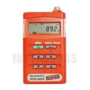 DOS-600 Dosímetro de Ruído Digital Portátil com certificado de calibração