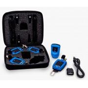 Kit para Higiene Ocupacional composto por 4 dosímetros de ruído DosePro, 1 calibrador acústico CalPro e estojo para transporte