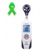 Termo anemômetro digital com certificado de calibração