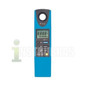 Locação de um luxímetro digital com datalogger, usb e Certificado de Calibração