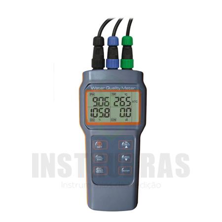 AK88 Medidor Multiparâmetro à Prova d'Água (pH/Cond/OD/Temp)