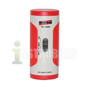Locação de um calibrador acústico para Decibelímetro / Dosímetro de Ruído com Certificado de calibração