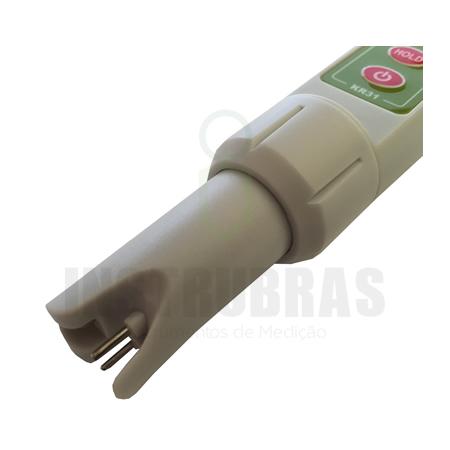 KR31 Condutivímetro de bolso com calibração  automática  - Instrubras Instrumentos de Medição