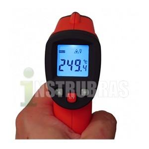 KR380 termômetro infravermelho -50 á 380°C  - Instrubras Instrumentos de Medição
