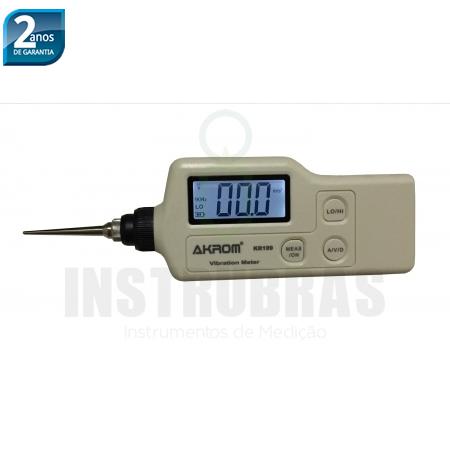 Kr199 Medidor De Vibração (aceler/veloc/desloc)