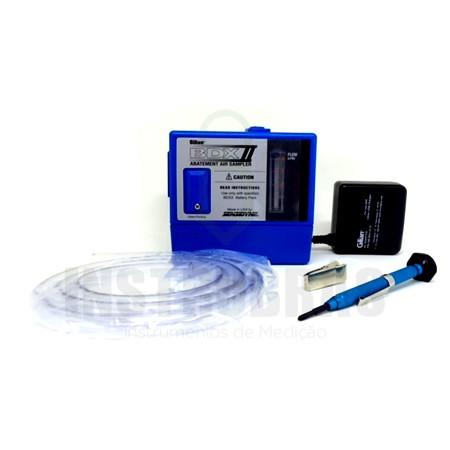 BDX-II Bomba de Amostragem de alta vazão + Certificado de calibração  - Instrubras Instrumentos de Medição