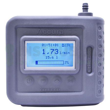 Bomba de amostragem digital programável Accura 2 - Com certificado de calibração  - Instrubras Instrumentos de Medição