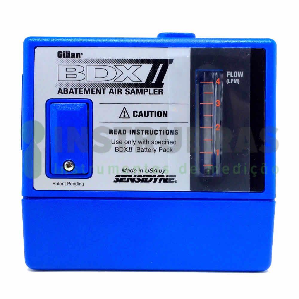 BDX-II Bomba de Amostragem de alta vazão + Certificado de calibração