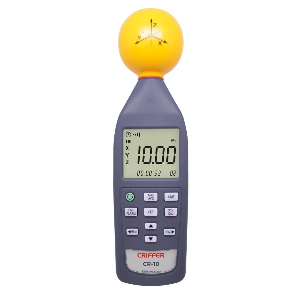 CR10 Medidor de campo eletromagnético