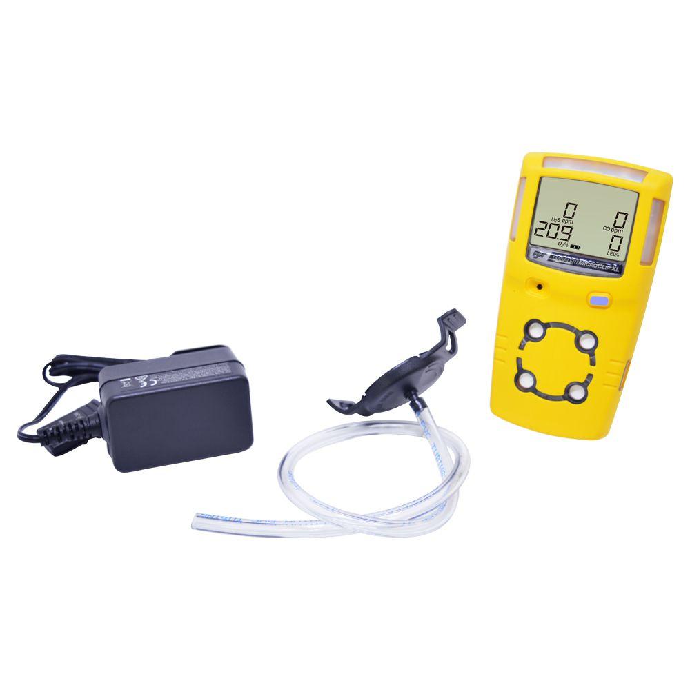 Detector de 4 gases  GasAlert Microclip XL BW (Espaço Confinado) - Com Certificado de Calibração  - Instrubras Instrumentos de Medição