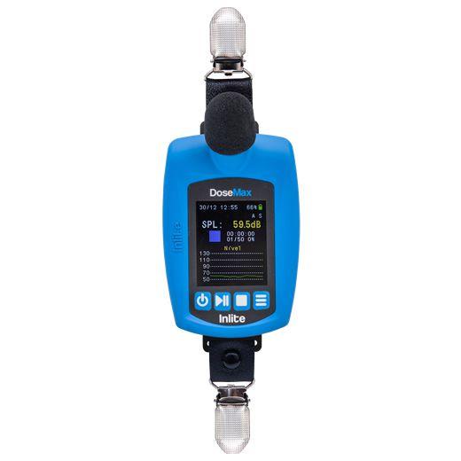 DoseMax Dosímetro de ruído digital com filtro de Bandas de oitava e certificado de calibração  - Instrubras Instrumentos de Medição