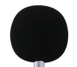 Espuma protetora de vento e poeira para microfones de Decibelímetros