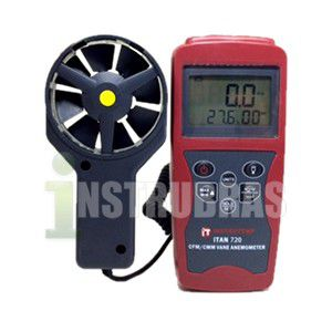 ITAN720 Termo anemômetro digital portátil com certificado de calibração