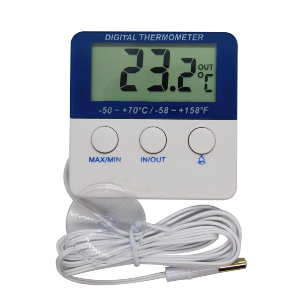 ITR-1322 - Termômetro com Alarme para Vacinas, Freezer e Geladeira