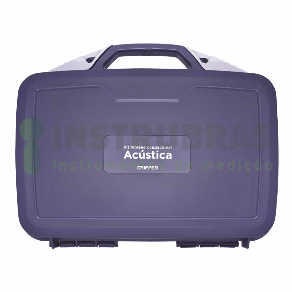 Kit higiene ocupacional - Acústica  - Instrubras Instrumentos de Medição