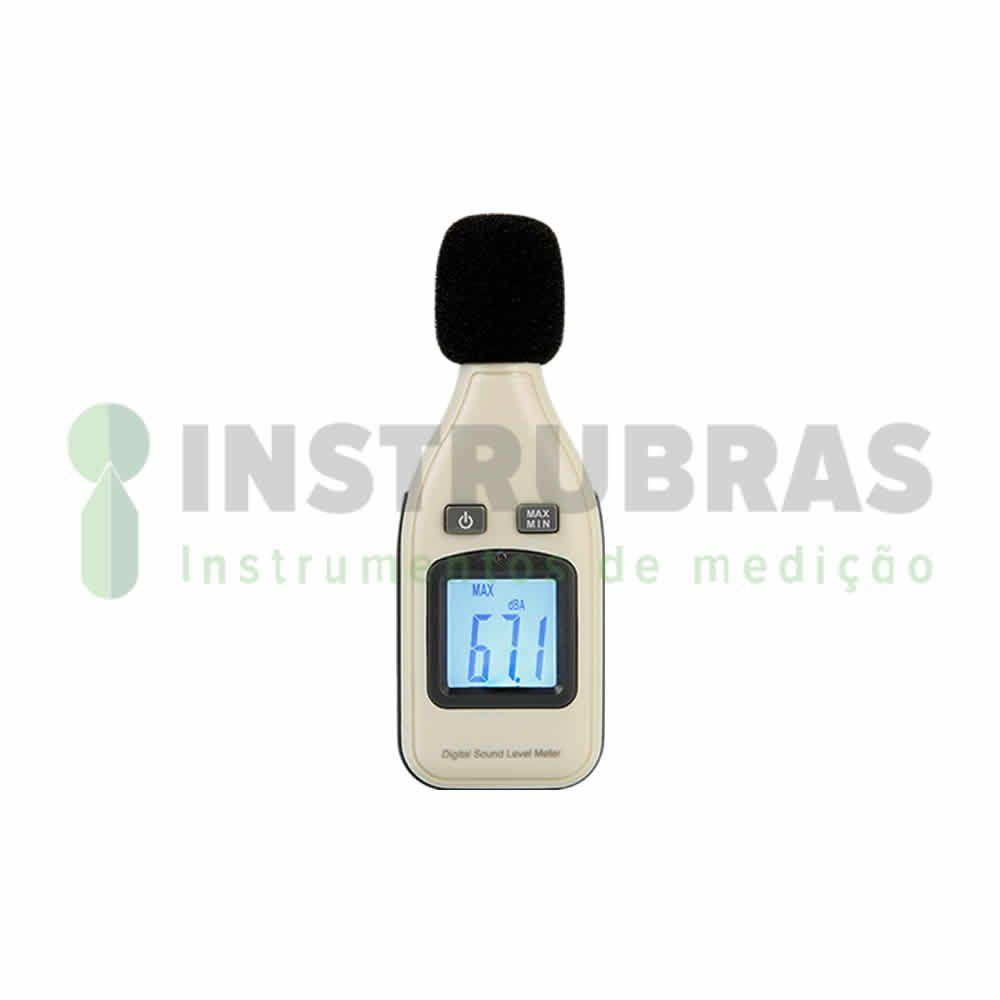 Kit Segurança do Trabalho - Decibelímetro + Luxímetro + Termo Anemômetro + Termo Higrômetro - Todos com certificado de calibração  - Instrubras Instrumentos de Medição