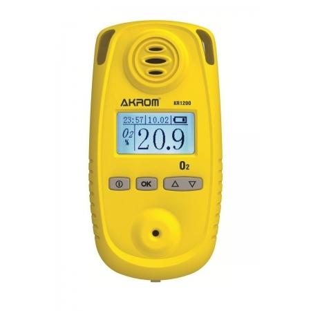 KR1200 Detector de Oxigênio digital portátil (O2)