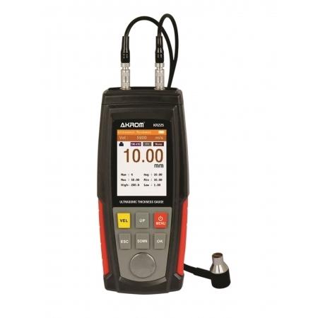 KR225 Medidor de espessura de chapas por ultrassom