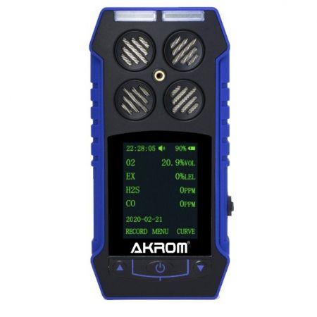 KR4200 Detector de 4 gases com certificado de calibração
