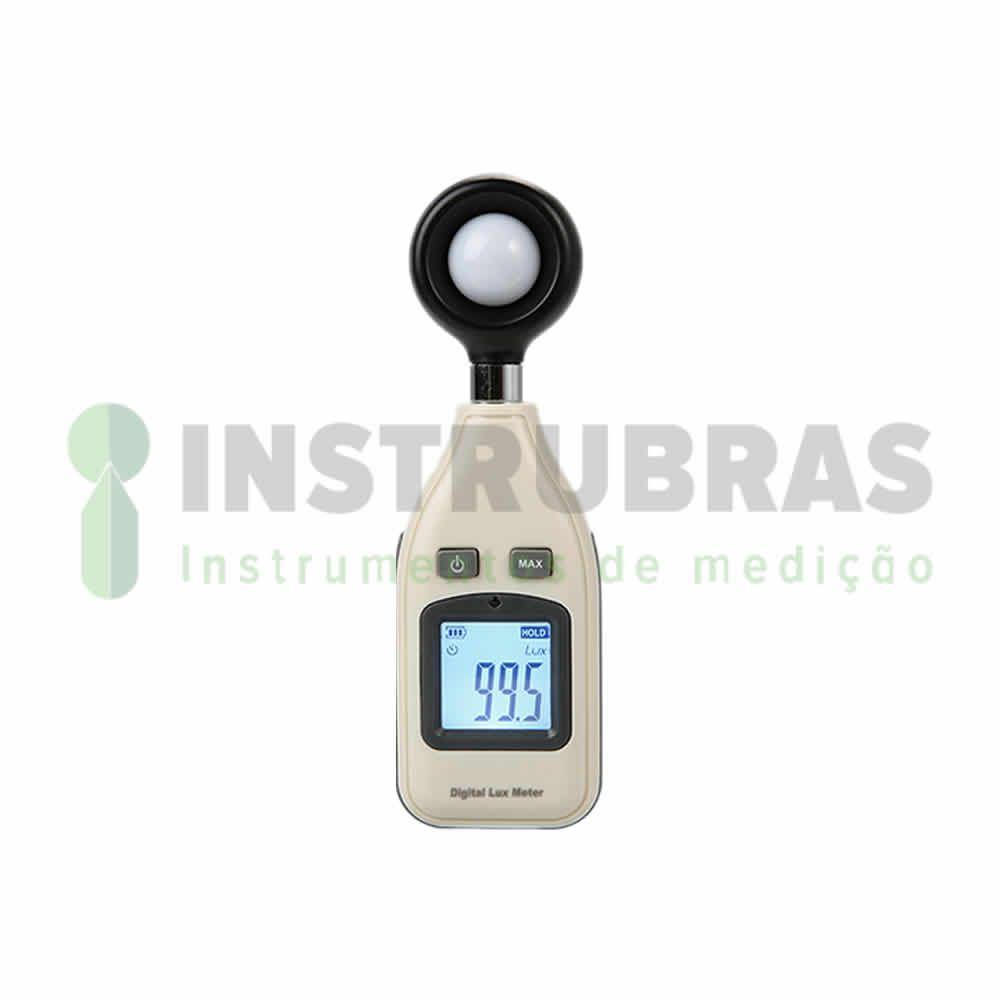 KR812 Luximetro digital portátil com alcance de medição 200000 LUX