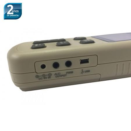 KR843 Medidor de nível sonoro com datalogger-USB (Decibelímetro) - Com Certificado de Calibração  - Instrubras Instrumentos de Medição