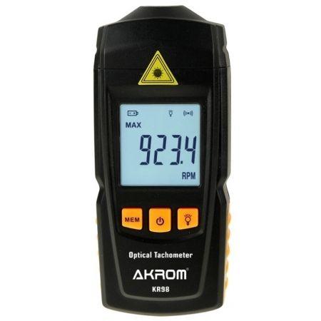 KR98 Tacômetro digital óptico com mira a laser