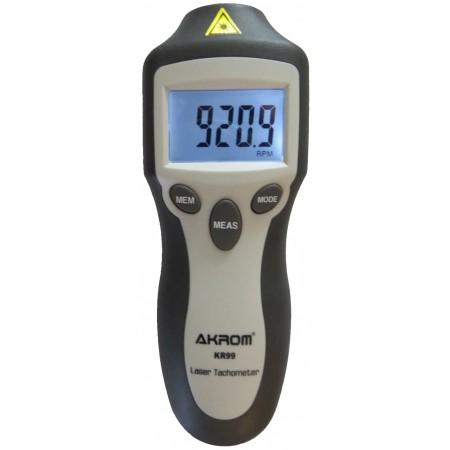KR99 Tacômetro contador de voltas óptico a laser