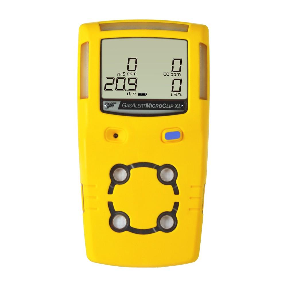 Locação de um detector de 4 gases com Certificado de Calibração