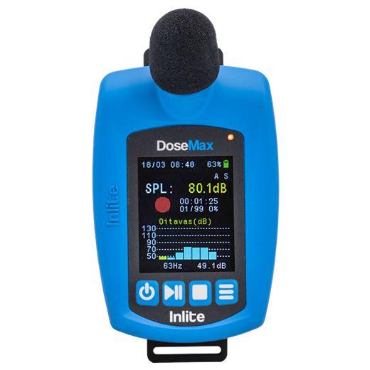 Locação de um dosímetro de ruído digital com Certificado de Calibração  - Instrubras Instrumentos de Medição