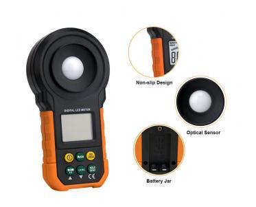 ITR-3000 - Luxímetro digital para LED  com certificado de calibração