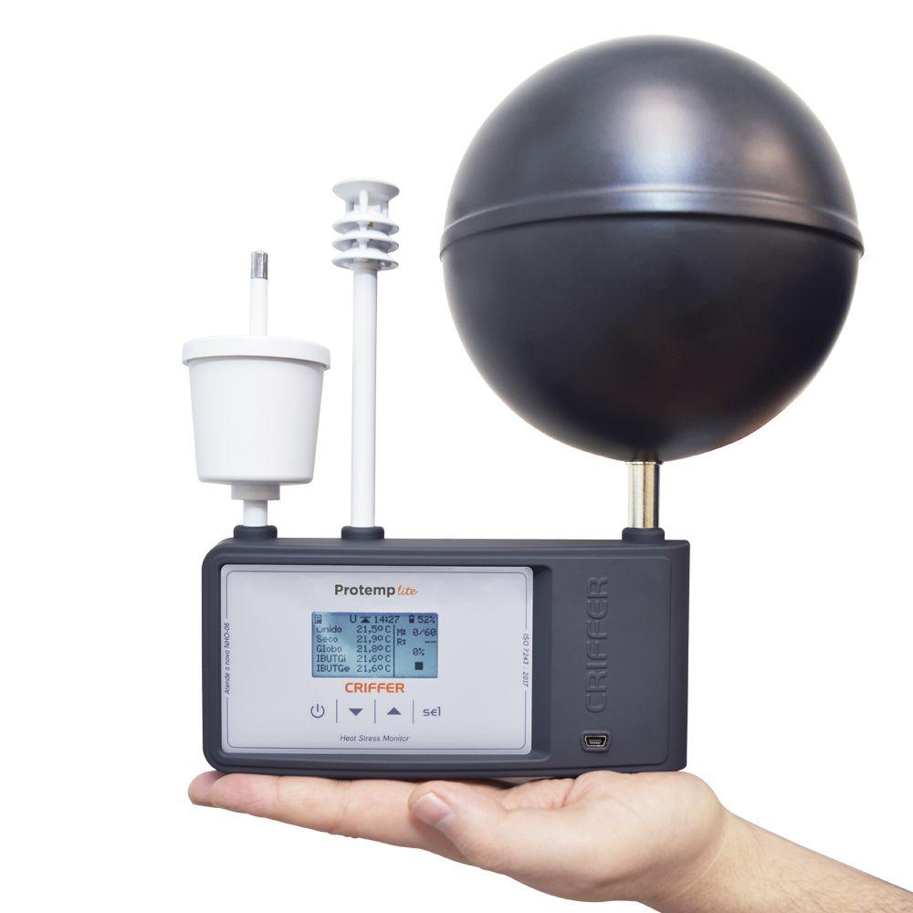 Protemp 4  Termômetro de globo digital com datalogger (IBUTG)