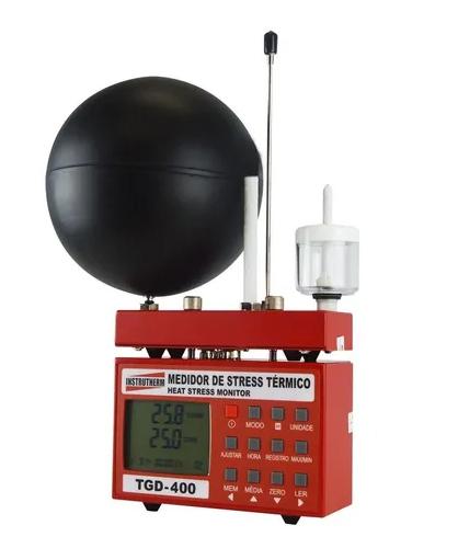 TGD-400 Termômetro de Globo digital com datalogger - IBUTG com certificado de calibração