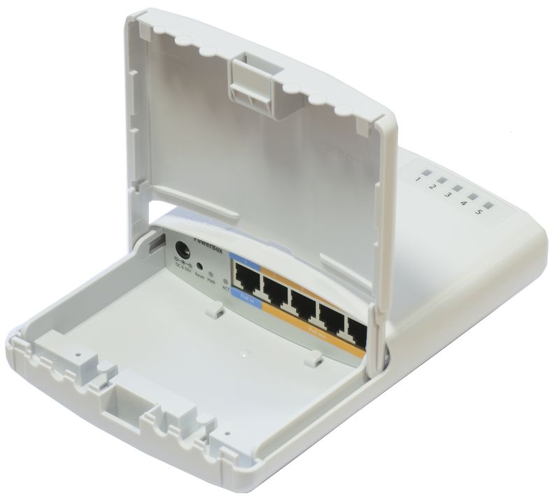MIKROTIK- ROUTERBOARD RB 750P-PBR2 L4  - TECTECH BRASIL COMPUTERS