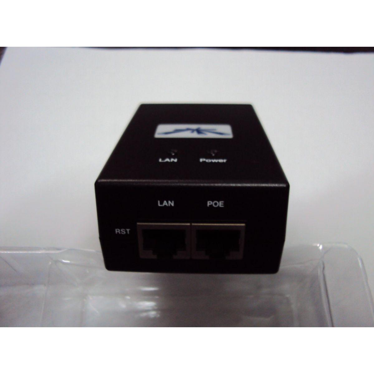 UBIQUITI FONTE- POE-24V-24W 1AMP  - TECTECH BRASIL COMPUTERS