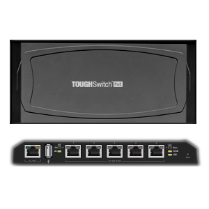 UBIQUITI TOUGHSWITCH TS-5-POE-BR (5 PORTAS)  - TECTECH BRASIL COMPUTERS