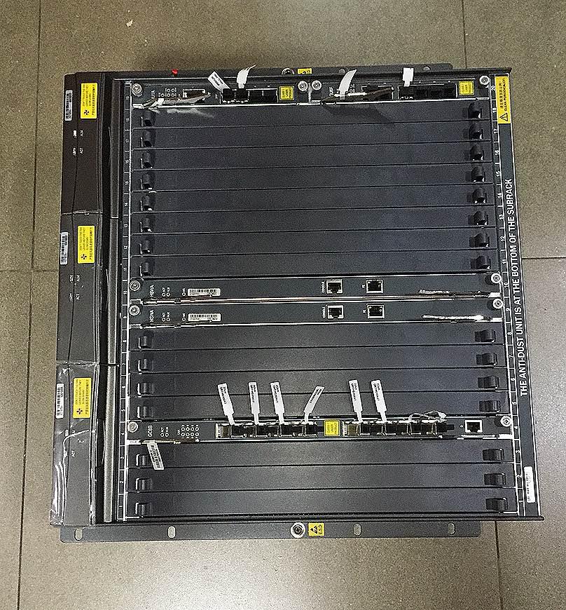 OLT AN5116-06B FIBERHOME 11U HU1A+GU6F+2X HSWA+GC8B  - TECTECH BRASIL COMPUTERS