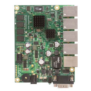 MIKROTIK- ROUTERBOARD RB850GX2 DUAL CORE PPC L5  - TECTECH BRASIL COMPUTERS