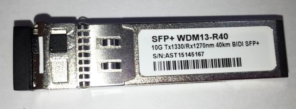 SFP+ 10G 40KM LC BIDI 1330-1270NM WDM13-R40  - TECTECH BRASIL COMPUTERS