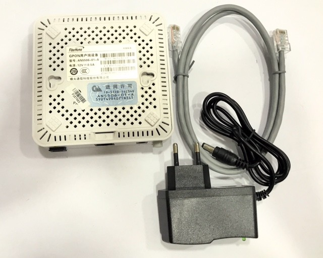ONU GPON AN5506-01A PLUS PPPOE/BRIDGE 1GE BRANCO FIBERHOME  - TECTECH BRASIL COMPUTERS