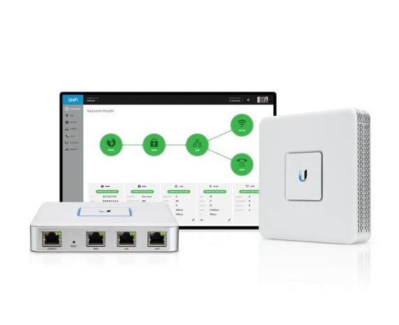 UBIQUITI AP UNIFI USG-BR SECURITY GATEWAY  - TECTECH BRASIL COMPUTERS